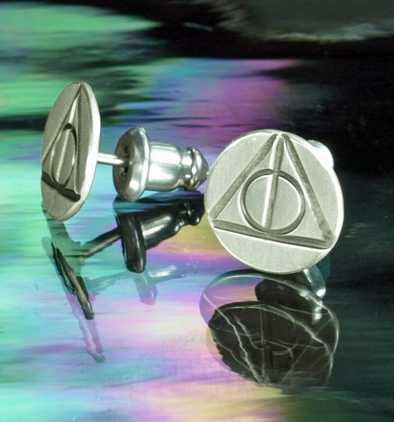 Stud Earrings- Harry Potter, Deathly Hallows