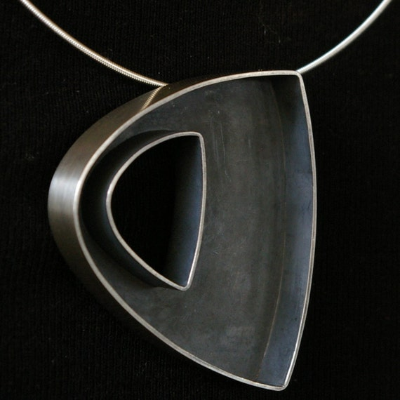 modern structural pendant