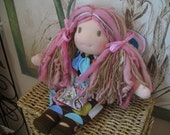 RESERVED FOR Wendy- Payment 3 - Custom - Waldorf Inspired Angel Fairy - 14 inch