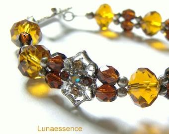 Topaz Beaded Bracelet, Beaded Jewelry, Crystal Jewelry, Rhinestone Jewelry, Top Selling Jewelry, Popular Jewelry, Gift Idea, Fashion Jewelry