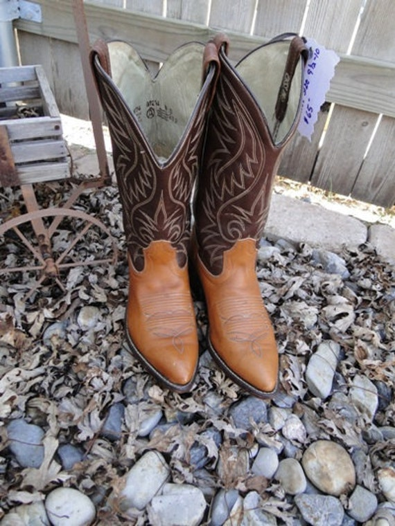 Vintage Acme Western Cowboy Boots - Great Condition