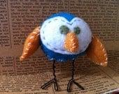 Pumpkin the felt Owl