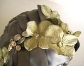 Wedding Headband - VIctorian Romance - all handmade
