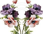 Shabby Victorian Klein Wild Roses Bouquet Vintage Decal - De-Klein-65