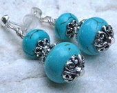 Turquoise tranquility earrings.