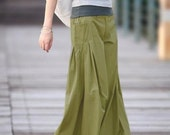 NO HURRY Cotton Pants in MUSTARD