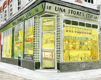 London Shopfront - Limited Edition Print