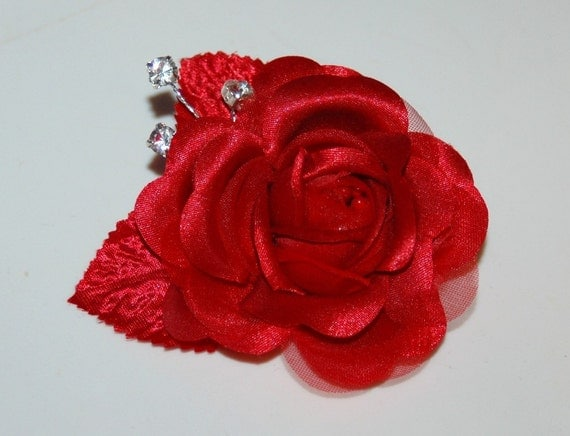 Red Rose Hair Accessories