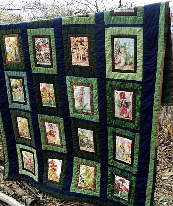 Reserved Listing for Julia...Fairy Garden Quilt