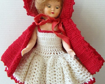 """Little Red Riding Hood 7"""" Doll"""