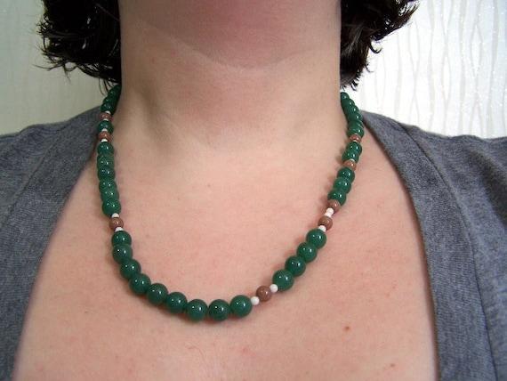 green aventurine adventurine tiny frog electron atomic necklace