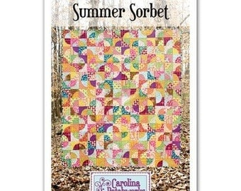 Summer Sorbet Quilt Pattern by Carolina Patchworks