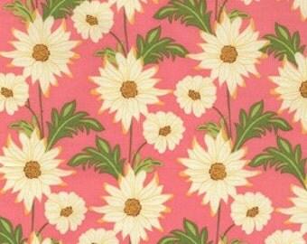Daisy Path Blush Meadowsweet Fabric by Sandi Henderson 1 yard