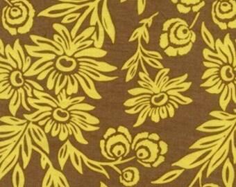 Hand Picked Daisies in Sunglow Modern Meadow Fabric by Joel Dewberry 1 yard