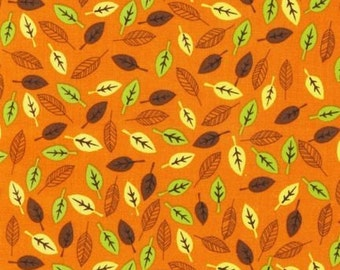 SALE Spring Leaves Playday Fabric by SEI for Robert Kaufmann 1 Yard