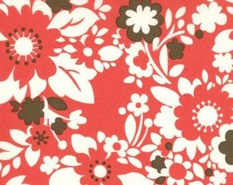 Bandana in Cherry Its a Hoot Fabric by Momo for Moda 32374-12, 1 yard
