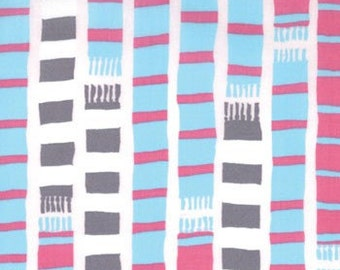 Scarf Stripe Pink Lemonade 18504-12 Sherbet Pips by Aneela Hoey for Moda Fabric 1 yard
