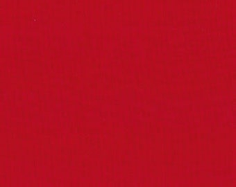 Moda Bella Solids Christmas Red Fabric 1 yard 9900-16