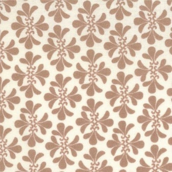Verna Clover in Earth by Kate Spain for Moda Fabric 1 yard