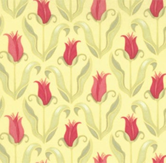 32 inches Tuileries in Daybreak Verna by Kate Spain for Moda Fabric Last Piece REMNANT