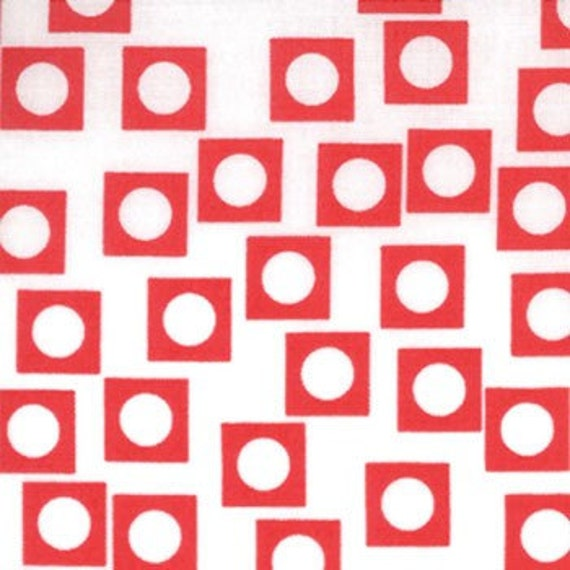 Play Dot Vanilla Chery 18506-12 Sherbet Pips by Aneela Hoey for Moda Fabric 1 yard Last Piece