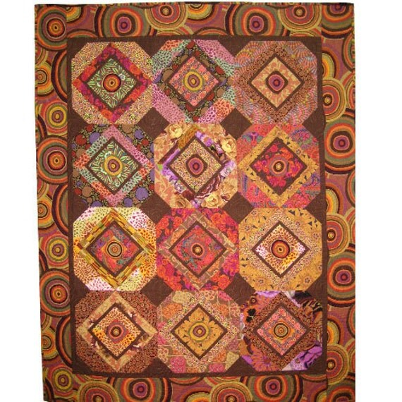 Cinnamon and Ginger Quilt Pattern by Allison Quilt Designs