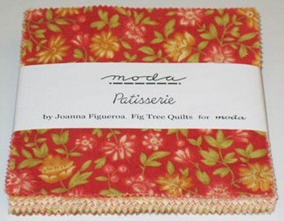 Patisserie by Moda Charm Pack 40 5 inch squares