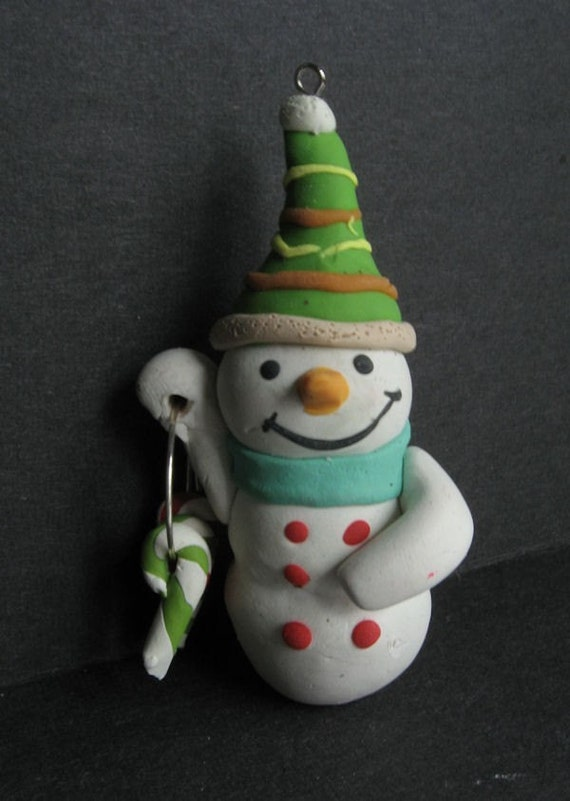 Snowman Ornament - Donna
