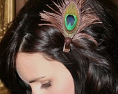 Paige The Everyday Peacock Hair Clip