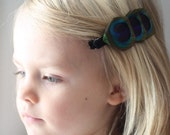 Journey Peacock Feather Headband
