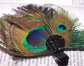 Madison The Perfect Peacock Hairpiece Clip