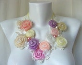 Wedding Bib Necklace