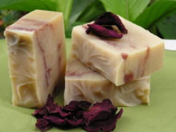 Southern Rose Garden, Organic ingredients, Natural Handmade Cold Process Soap