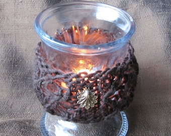 Knitted Tealight Holder