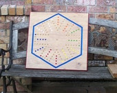 Massive aggravation game 6 player classic board game sign d by craftsman