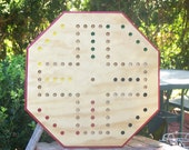 Aggravation game board w marbles dice and instructions