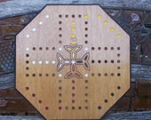 Aggravation Game board with Celtic Cross