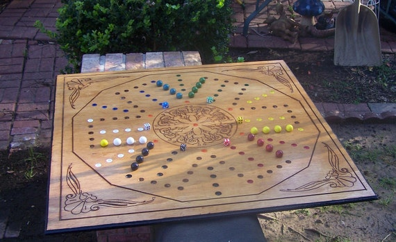 Aggravation game the biggest nicest available dual sided 4 and 6 player game