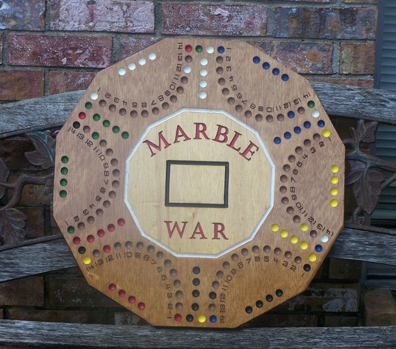 Items Similar To Marble War Board Game Similar To