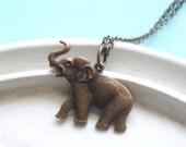 Elephant Necklace - Sahara