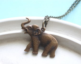 Elephant Necklace - Sahara