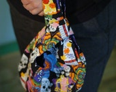 Dia de los muertos Grab and Go Wrist Bag