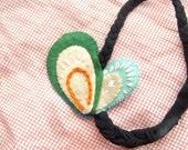 Felt feather tribal Headband