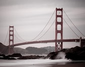 Golden Gate Bridge - Color Photo - 11x14
