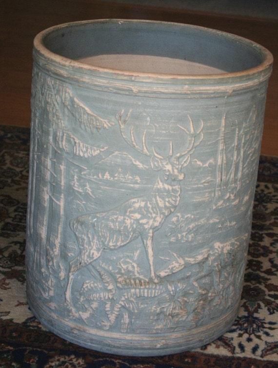 Vintage Deer In Forest Robinson Ransbottom By Bluebonnetsetc