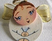 Handmade Angel Ornament
