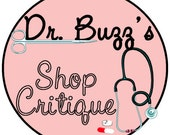 Shop Analysis - Dr. Buzz - Your Prescription For Etsy Success - Take TWO and Call Me in the Morning xxx