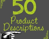 Product Descriptions Personalized Business Copywriting 50 SEO Seller Help Google Boost Relevancy and Keywords for Your Handmade Business xxx