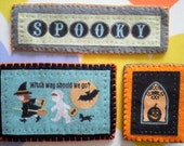 Costume Club Critters - Spooky Halloween Brooch Set