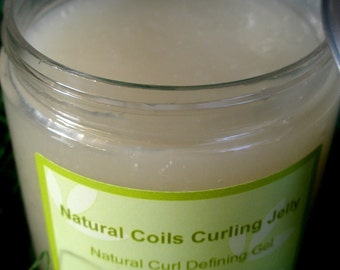 Natural Coils Curling Jelly 16 oz. Jar